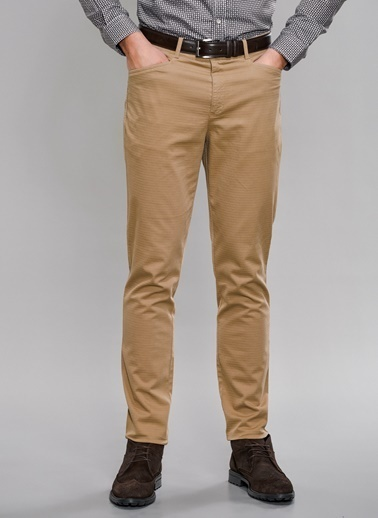 People By Fabrika Chino Pantolon Camel